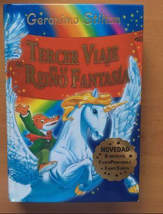 "Libro ""Tercer viaje al Reino de la Fantasía"""