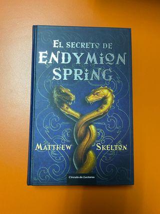 Libro Juvenil: El Secreto de Endymion Spring
