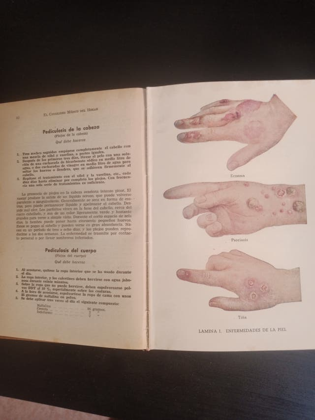 Libro medicina de 1959