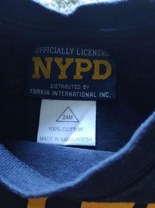 Camiseta NYPD niño