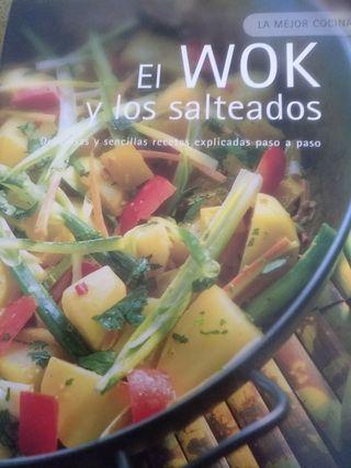libro cocina el wok y los salteados