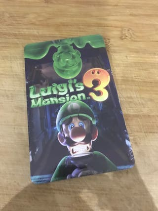 Steelbook Luigi's Mansion 3 PRECINTADO