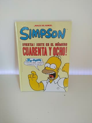 comic de los Simpsons
