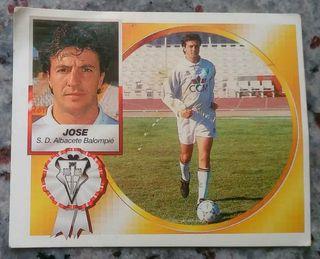 Cromo Jose (Albacete) 94-95.