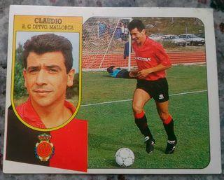Cromo Claudio (Mallorca) 91-92.