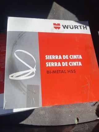 cinta bimetal wurth 3020x27x0.9