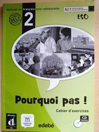 Libros de francés 2°eso