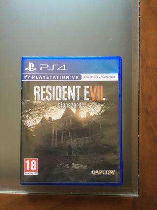 Resident Evil biohazard para ps4