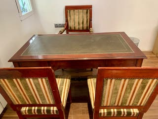 Mesa despacho clasica estilo ingles