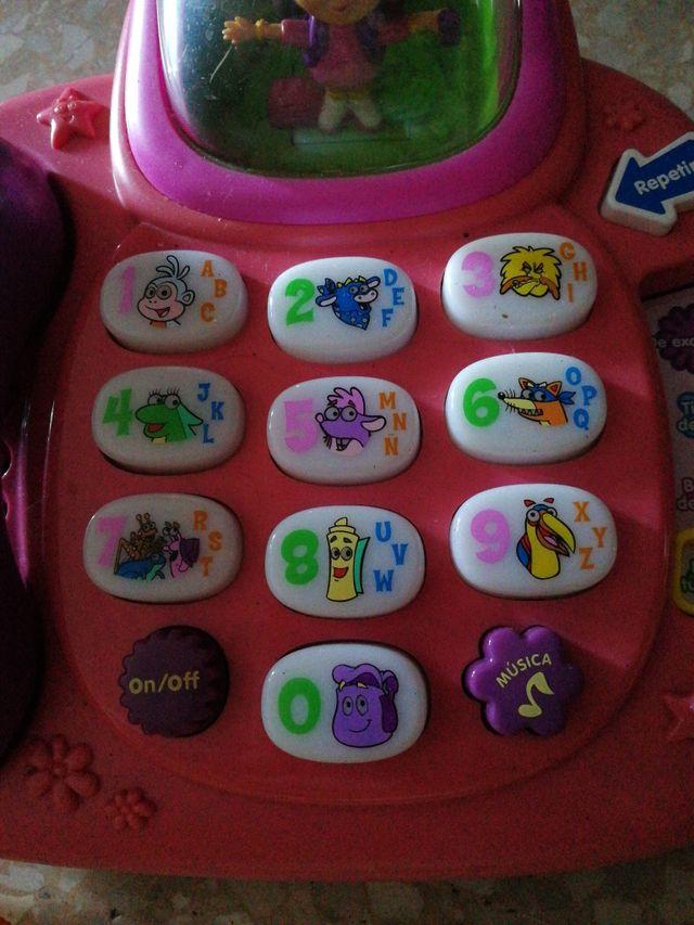 Teléfono Dora Exploradora