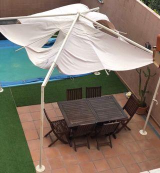 Parasol- Pérgola- Cenador- Sombrilla