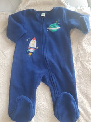 Pijama-manta / sobre pijama polar 3 meses. NUEVO