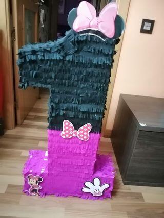 piñata N° 1 Minnie Mouse