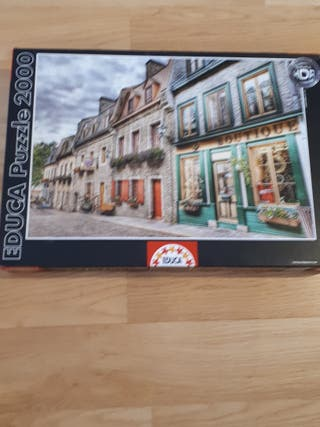 Puzzle de tiendas