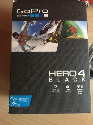 Gopro hero 4 black edition + accesorios
