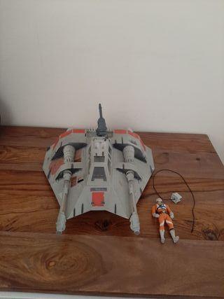 Star Wars snowspeeder año 1995