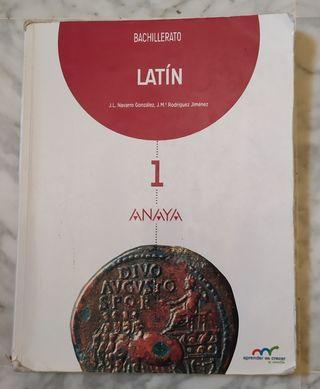 Libro de Latín, 1° Bachillerato
