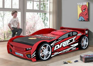 Wooden car bed