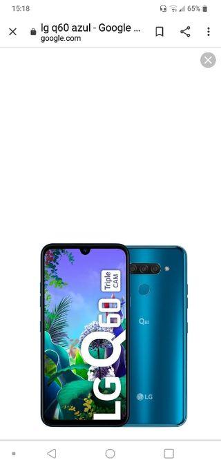 LG Q60 EN COLOR AZUL 64GB 4 RAM EN PERFECTO ESTADO