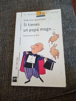 libro de lectura infantil 'si tienes un papá mago'