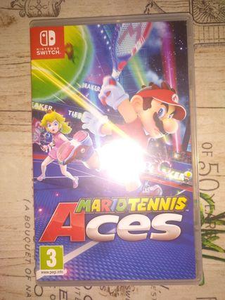 Videojuego Mario Tennis Aces Nintendo Switch.