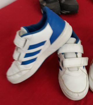 Lote zapatillas niño