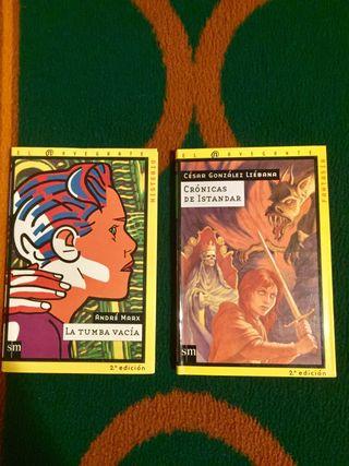 Libros de misterio/fantasía (juvenil)