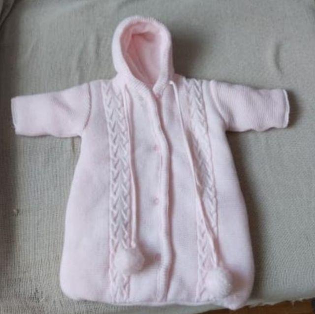 saco de lana para bebé recién nacido