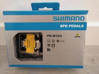 Pedales Shimano SPD-M324