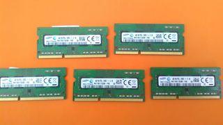5 Ram 4gb DDR3L sodimm