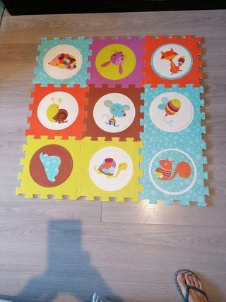 Puzzle para suelo bebes