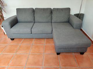 Sofá IKEA con chaise lounge BALDERUM - Como nuevo!