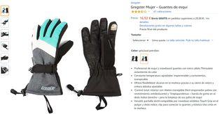 Guantes de esquí Gregster Mujer (Talla M)