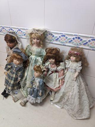 Bonitas Muñecas de porcela