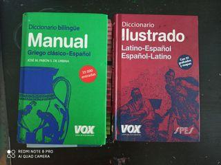 Diccionarios Latín y Griego