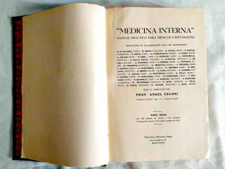 1935 - CECONI: MEDICINA INTERNA