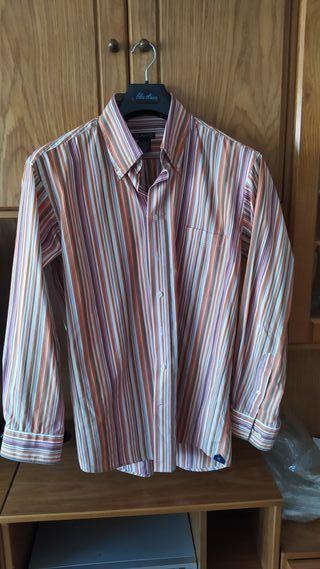 camisa rayas Gant