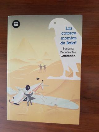 Libro Las catorce momias de Barkrí