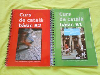 Libros curso de catalán básico 1 y 2