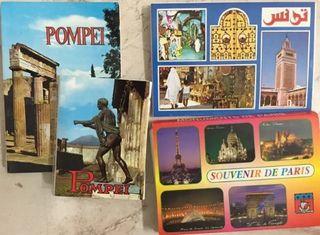 Desplegable postales