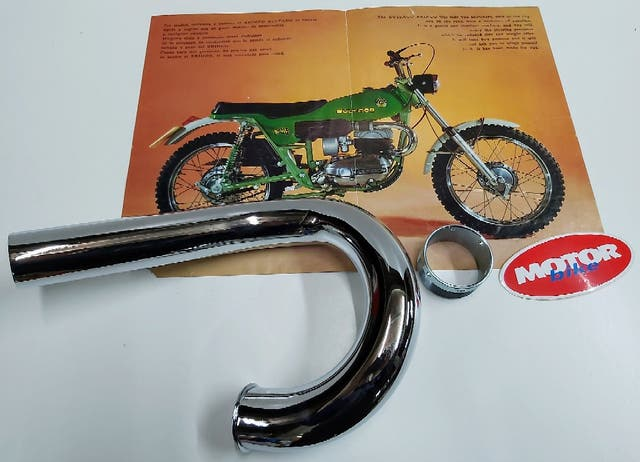 Bultaco brinco, codo y rosca cilindro