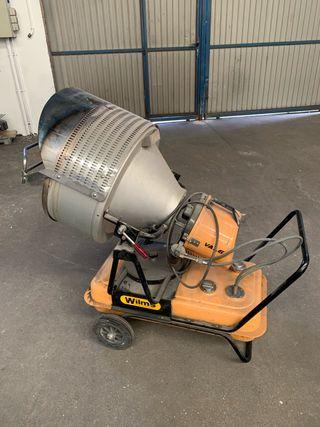 Calefactor industrial infrarrojos