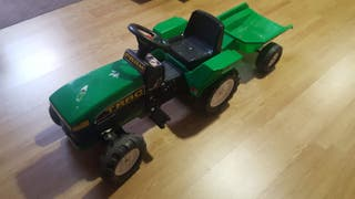 Tractor triciclo