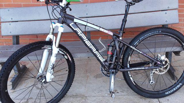 bicicleta doble suspensión lapierre 310. Talla S.