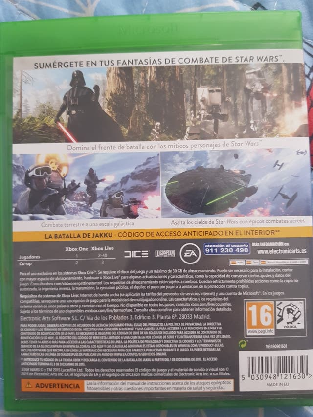 Star Wars Battlefront Xbox One