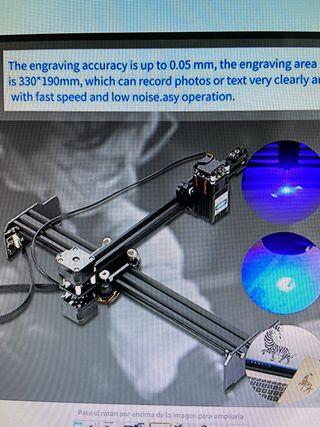 Grabadora / Cortadora Laser 20w