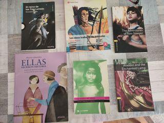 Libros de lectura e inglés