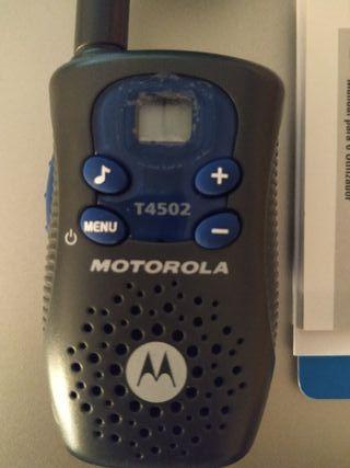 walkie talkie Motorola 4502