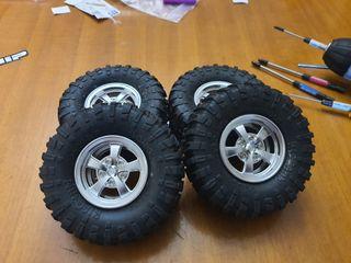 ruedas completas crawler