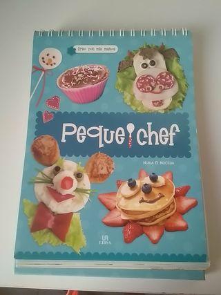 Peque Chef Libro Para Cocinar